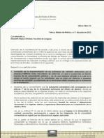 Respuesta Pliego Petitorio MAR