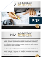 Apresentação_MBA em Contabilidade Empresarial_PME
