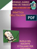 Ruolo del docente d'italiano per stranieri