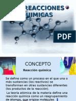 Las Reacciones Quimicas