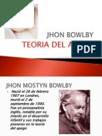 -JHON-BOWLBY Teoria Del Afecto