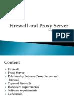 Firewall and Proxy Servers