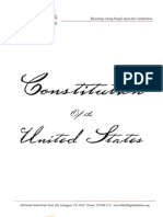 US Constitution 1787