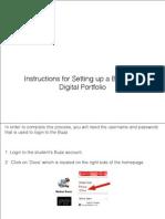 Creating Student Portfolios