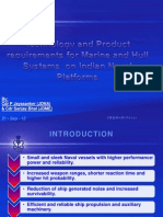 Paper on Technology and Product Requirements of the Navy for Mechanical and Hull Systems