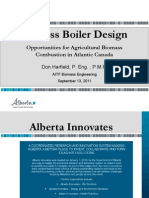 Biomass Boiler Design