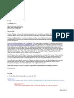 Terrance Williams Clemency Full Letter - Governor