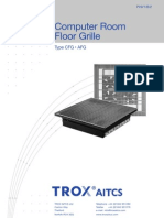 Trox Server Room Floor Grilles CFG_AFG