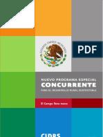 Programa Especial Concurrente Para El DesarrolloRural Sustentable 2007-2012