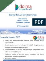 Session 2 - Dolma Impact Fund - Shabda Gyawali