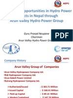 Session 3 - Investment Opportunities in Arun Valley Hydro Power Projects