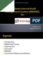Risk Based Internal Audit Management System