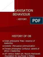 History of OB 13