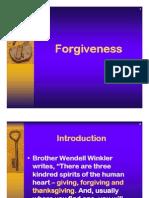 Christian Living Forgiveness p p 2010
