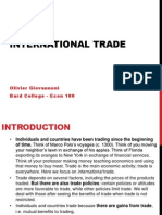 Ch 18 - International Trade