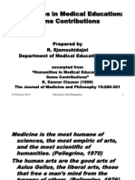 Ebp3kh-Humanities in Medical Education
