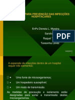 MANUAL PARA PREVENÇÃO DAS INFECÇÕES HOSPITALARES