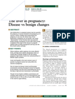 liver disease with pregnancy
