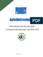 Date Statistice Privind Agricultura