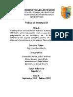 Proyecto Calculo Avance