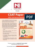 CSAT Book Services Exam