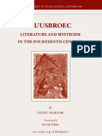 Literature and Mysticism in the 14th Century