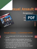 Sexual Assault 2011