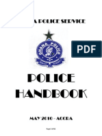 Police Hand Book Current Edit