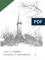 Etudes et documents Balkaniques - 6 ,1983