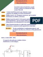 Efecto fotoelectrico (teoria)