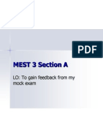mest 3 section a
