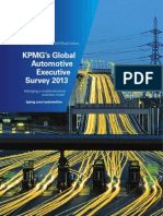Global Automotive Executive Survey 2013