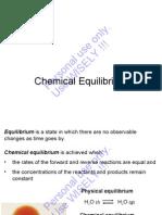 ITT Chng Ch 14 Chemical Equilibrium