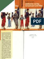 Blandford - Colour Series - Uniforms of the American Civil War
