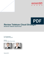 Experton Deutsche Telekom Review Cloudstrategie 120213 Final