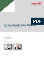 Experton Deutsche Telekom Review Cloudstrategie 120213 Final