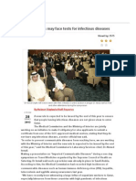 Visa Applicants May Face Tests for Infectious Disease-Gulf Times Dt 28.01.2013