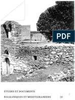 Etudes et documents Balkaniques et Mediterraneens - 20 , 1998