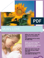 Mother's love.ppt