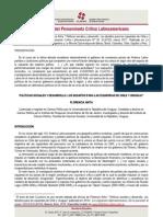 Cuadernos del Pensamiento Crítico Latinoamericano Nº40  Políticas sociales y desarrollo. Los desafíos para las izquierdas de Chile y Uruguay