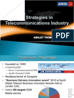 MVNO Strategies in Telecommunications Industry