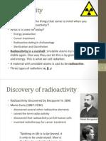 Radioactivity - P3, week 6