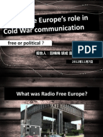 comm studies presentation class 1_freeeurope.ppt