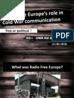 comm studies presentation class 1_freeeurope.ppt