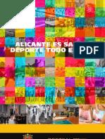 Guia Alicante es salud. Deporte todo el año- 2012