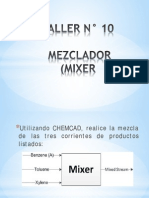 Simulacion Chemcad_taller 10