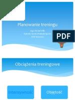 25_Planowanie treningu w okresie przygotowawczym Michał Wilk
