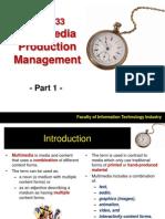 Multimedia Production Management