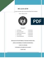 "Makalah ""Tema Inovasi Pendidikan"" Belajar Aktif Mata Kuliah Ilmu Pendidikan"