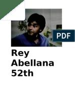 REY ABELLANA 52TH Birthday Celebration